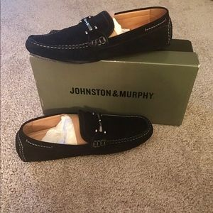 Johnston & Murphy Other - NIB! JOHNSTON&MURPHY SUEDE LOAFERS(11M)