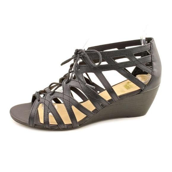 b2f9bd206356 Crown Vintage Shoes - Crown Vintage Divina Wedge Sandal