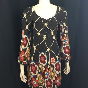 Aryeh Dresses & Skirts - Aryeh Anthropologie Dress M Floral Boho Retro
