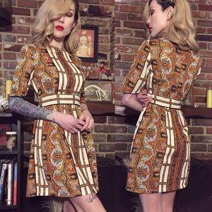 Vintage 70's bohemian dress