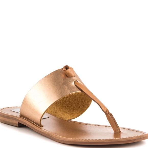 23495aa490fd SOLD OUT Steve Madden Olivia rose gold sandals