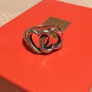 James Avery Jewelry - James Avery Linked Hearts Ring