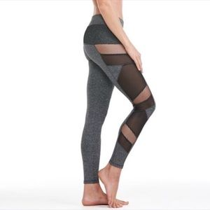 Electric Yoga Pants - 🆕 || Sexy Charcoal Mesh Panel Leggings