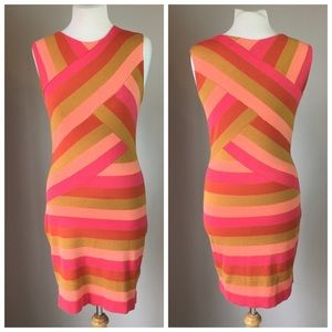 Ted Baker London Dresses - Ted Baker NWOT Striped Sweater Bodycon Dress