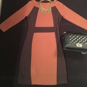Dresses & Skirts - European Designer Long Sleeve Sheath Dress