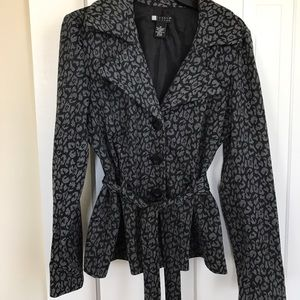 Carol Little Jacket Blazer With Tie