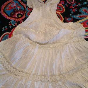 FLASH SALE Off White Summer Dress