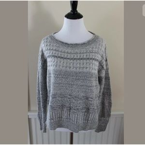 Anthropologie Sparrow Gray Cashmere Blend Sweater