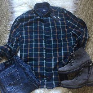 Mavi Other - 🎉HP🎉Men's Mavi button-down plaid shirt XL