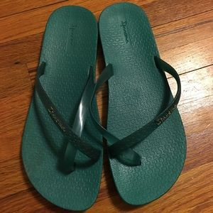 Ipanema Shoes - Teal Sandals