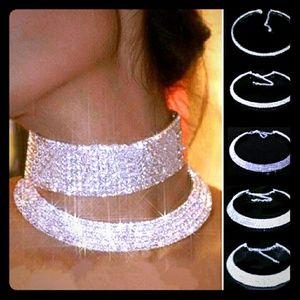 Jewelry - Stunning Diamond Crystal Necklace