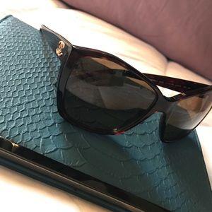 CHANEL Accessories - Chanel Tortoise Glitter Sunglasses✨