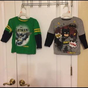 Lego Other - Batman toddler boys' long sleeves tops 2T green/gr