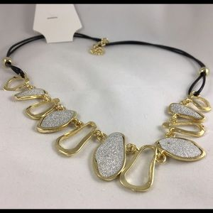 Accessory Collective Jewelry - Fashion Glitter gold necklace