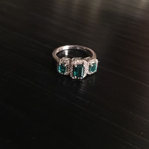 Macy's Jewelry - Emerald and Diamond Ring