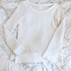 Lou & Grey ivory sweater