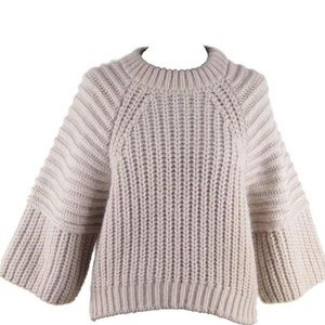 Balenciaga Sweaters - Balenciaga Oversized Ribbed Knit Sweater