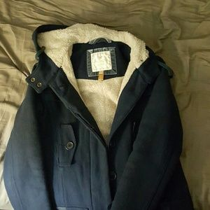 American Eagle Navy Winter Coat