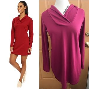 Lole Dresses & Skirts - Lolë Activewear Calm Dress in Maroon