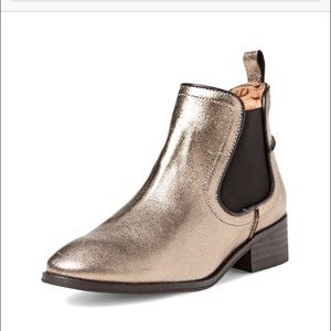Modern Vintage Lucille Metallic Ankle Boot