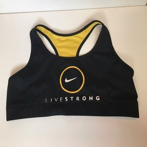Nike Livestrong sports bra