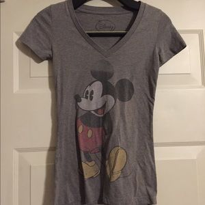 Disney Mickey Mouse V neck XS t shirt