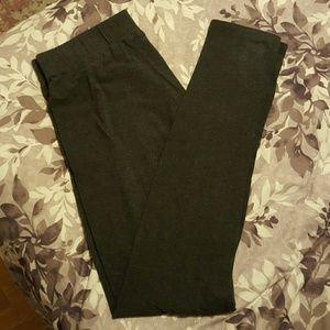 Long Elegant Legs Pants - Long Elegant Legs Dark gray tall leggings