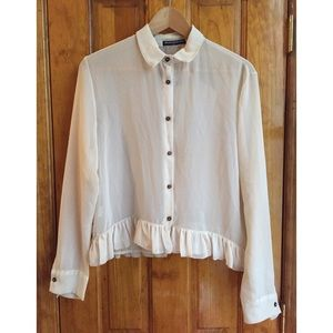 Brandy Melville Tops - 30% OFF BUNDLES Brandy ❤ Melville Sheer Shirt