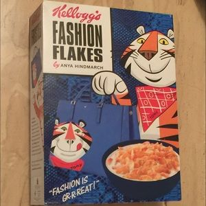Anya Hindmarch Other - Anya Hindmarch Fashion Frosted Flakes Box