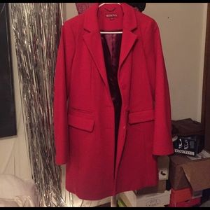 Merona red Pea Coat!