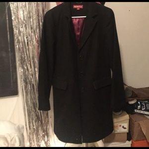 Merona black pea coat!