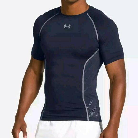 Activewear Useful Nwot Mens Sz 3xl Xxxl Under Armour Armourvent Compression Heatgear Ss Shirt Top