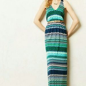 Anthropologie Dresses & Skirts - The Addison Story Juxtapose Chevron Dress XL