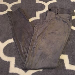 NWOT Jessica Simpson faux suede skinny pants