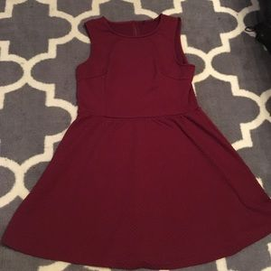 Textured skater dress from F21