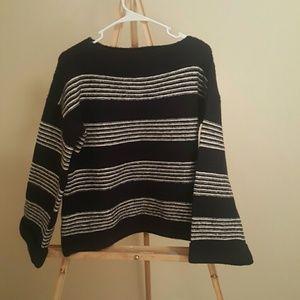 Primark Sweaters - Primark - Navy Stripe Boatneck Sweater sz. 8