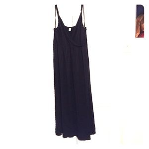 Old Navy - Black strapless maxi dress from Valerie's closet on ...