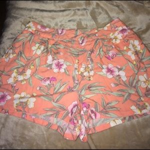 Floral shorts from american eagle XL