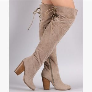 Shoes - NEW with box OVER THE KNEE boots!!