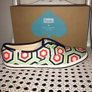 Keds for Kate Spade  ♠️ NIB Sneakers Size 8 •N E W