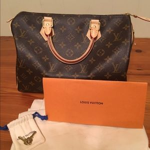 New Louis Vuitton Speedy 30