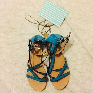 Charming Charlie Shoes - Baby blue sandals🌈