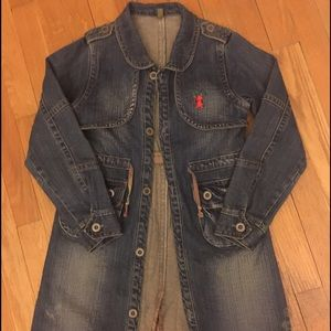 Awesome Denim trench Marico Girl's