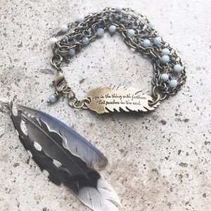 Cultiverre Jewelry - emily dickinson hope bracelet