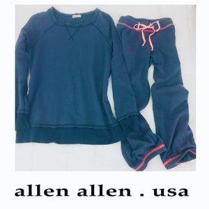Allen Allen Other - || Allen Allen || Pullover Tunic + Crop Gym Pants