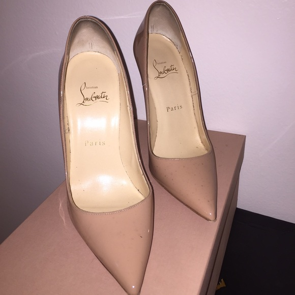 217ab9587a60 Christian Louboutin Shoes - Nude So Kate size 37 PreOwned