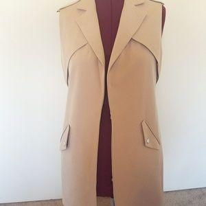 primark Jackets & Blazers - Primark Sleeveless Vest in Blush  Size 10 NWT