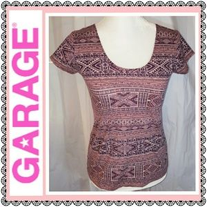 Garage Tops - Garage scoop neck top, EUC