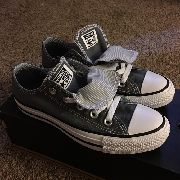 fe5a763db7eb Converse Shoes | Chuck Taylor Double Tongue Lo Top Sz 5 | Poshmark