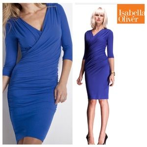 Isabella Oliver Dresses & Skirts - ⚡️FLAS SALE⚡️Isabella Oliver Blue Dress
